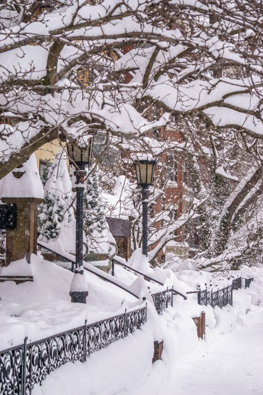 boston blizzard Back Bay