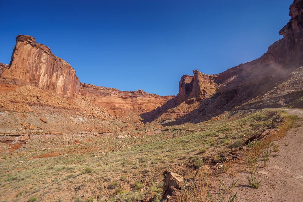 Canyonlands National Park Utah - au fond du canyon
