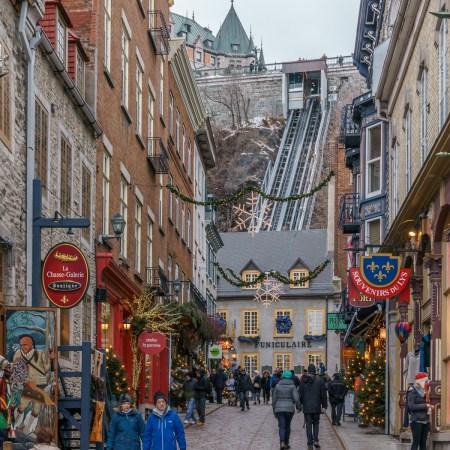 Voyage Road trip Québec le funiculaire