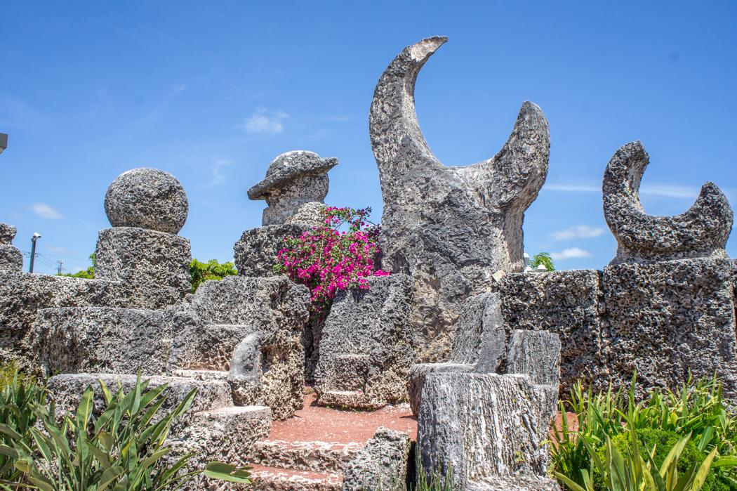 Le chateau de corail - Floride - www.maathiildee.com - lune