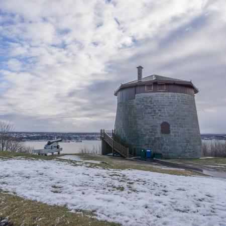 Visite de la ville de Quebec - fort