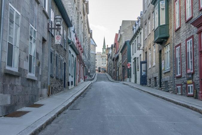 Quebec city - Les petites rues qui montent