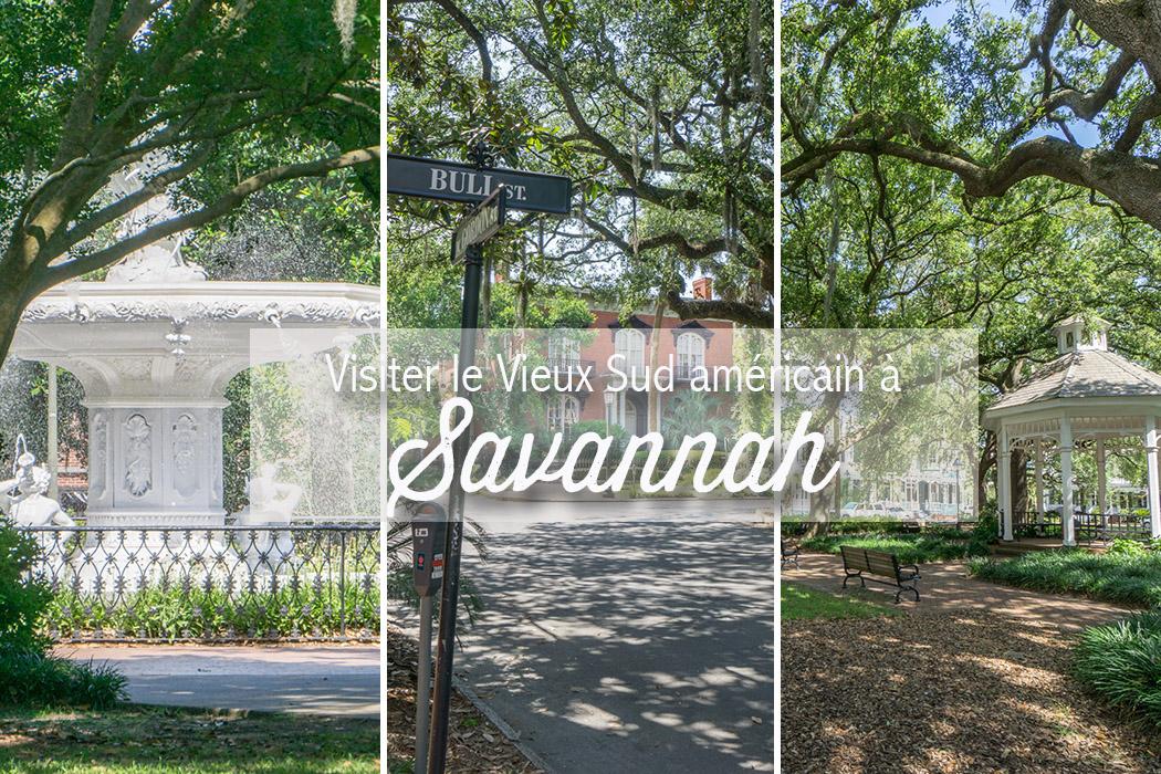 visiter savannah georgie