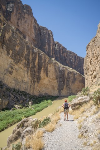Big Bend Texas - Santa Elena Canyon trail