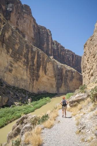 Big Bend Texas - Santa Elena Canyon trail