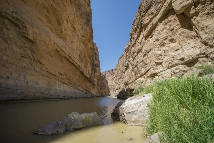 Big Bend Texas - Santa Elena Canyon trail Rio Grande