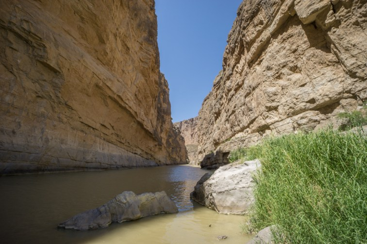 Big Bend Texas - Santa Elena Canyon trail Rio Grande