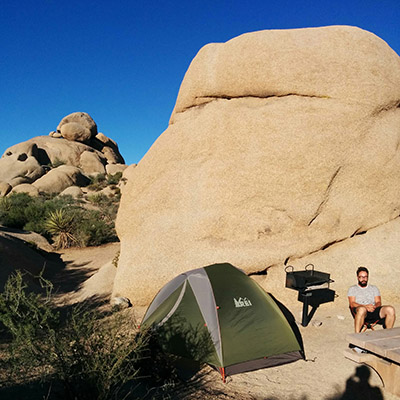 Le lendemain camping