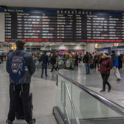 Boston New York en train-13