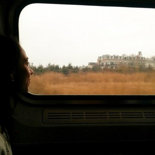 Marie Boston New York en train-3