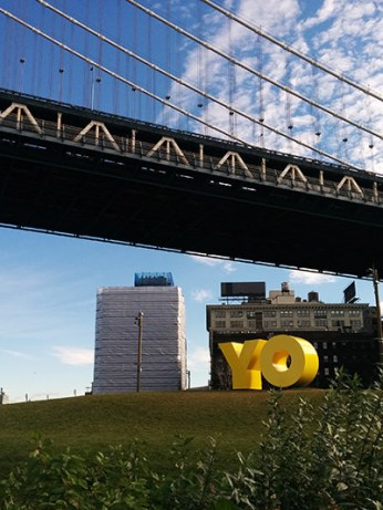 Dumbo bridge New York YO