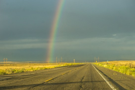 arc en ciel Bisti Badlands Nouveau Mexique-2