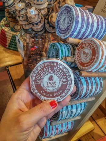 Vivre a Boston - visiter Taza Chocolat 1
