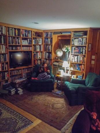 Vivre a Boston - airbnb bibliotheque