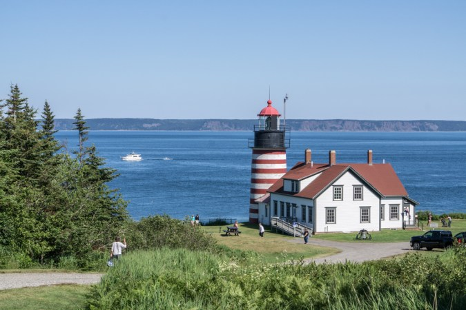 Quoddy Headlight Phare Maine-1