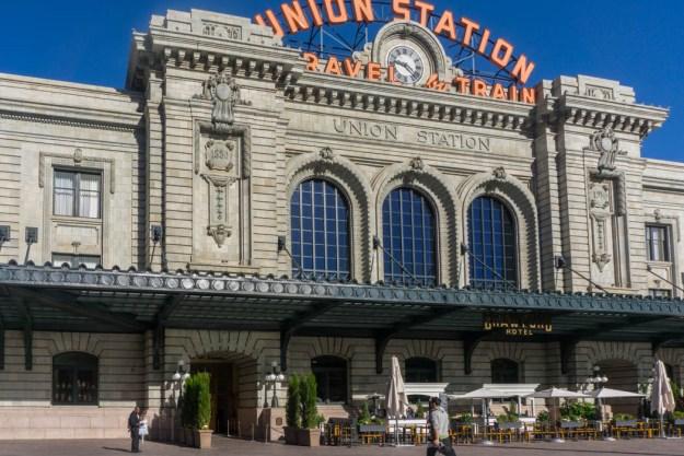 DENVER COLORADO UNION STATION