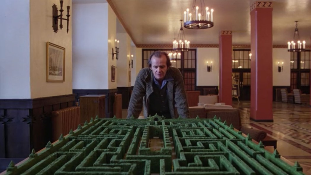 Jack et le labyrinthe The shining