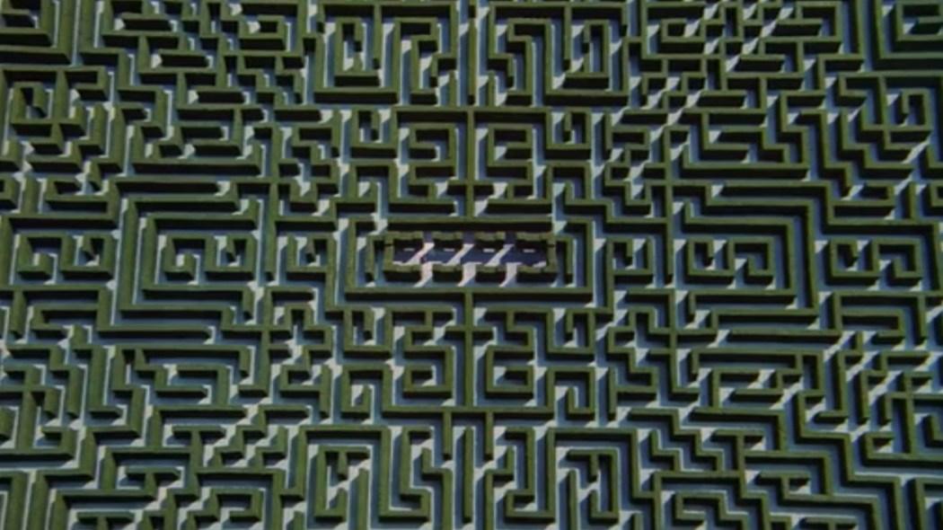 Labyrinthe vu den haut The SHining