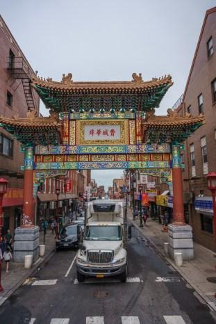 Philadelphie Chinatown porte