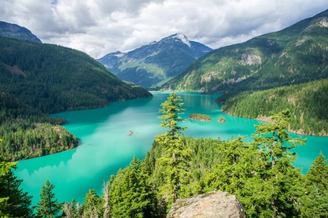 Cascades National Park - Diablo Lake