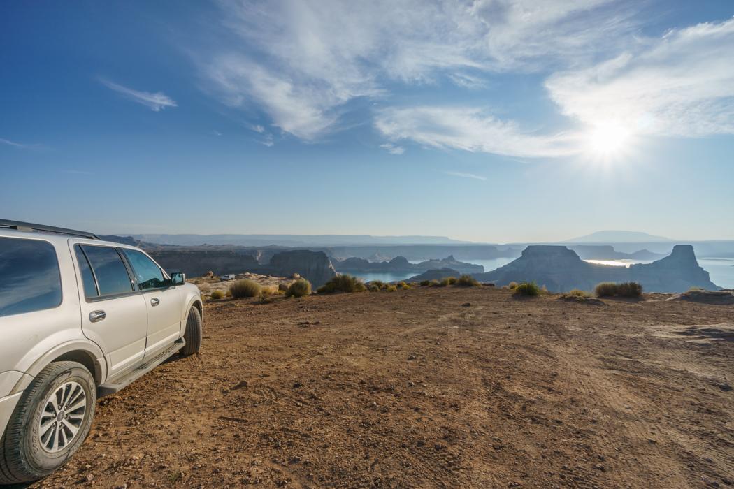 De la route depuis Alstrom Point Glenn Canyon-1