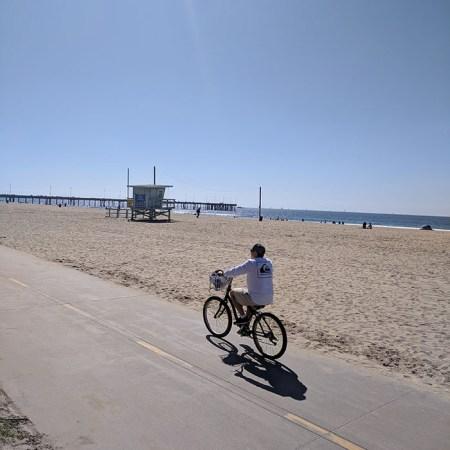 La plage Los Angeles