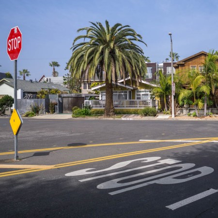 Los Angeles Stop Sign-1