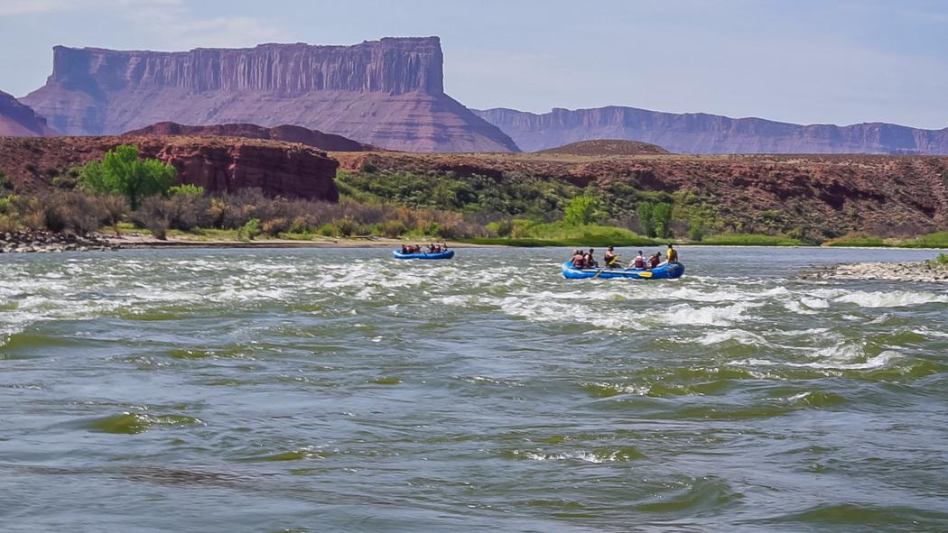 Rafting Moab Utah