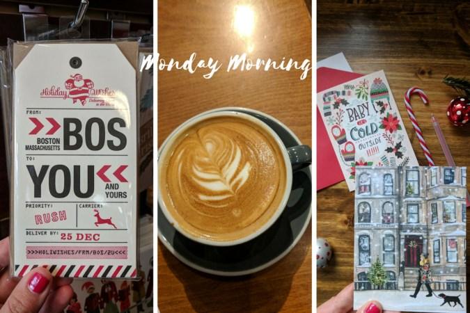 Monday MOrning DEcembre Le blog de Mathilde Boston