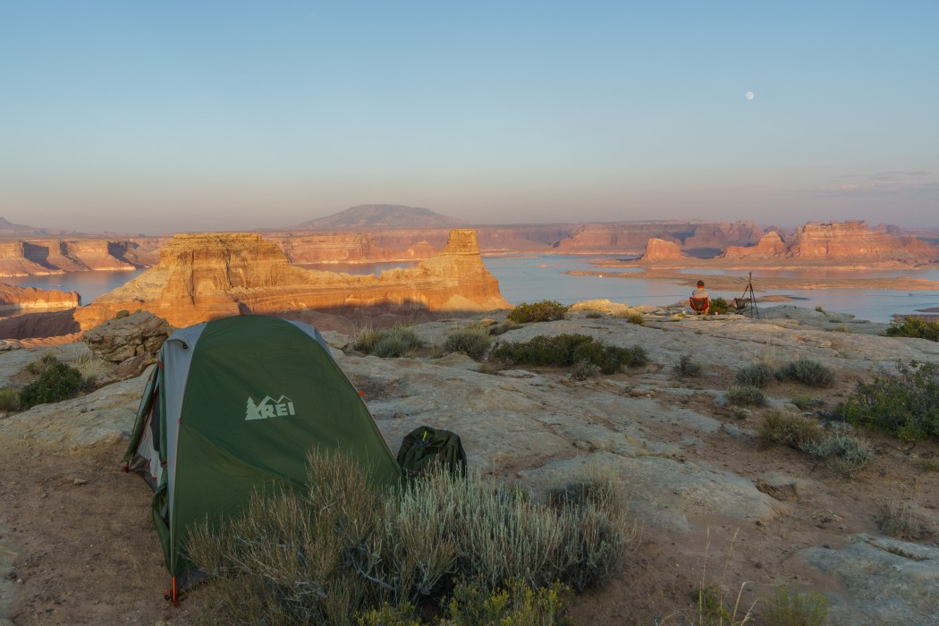 camping lake powell-1