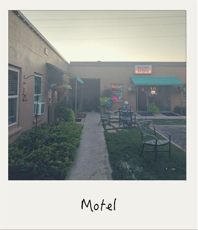 Motel sud-ouest américain
