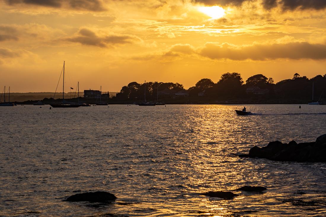 Sunset stonington ct 1