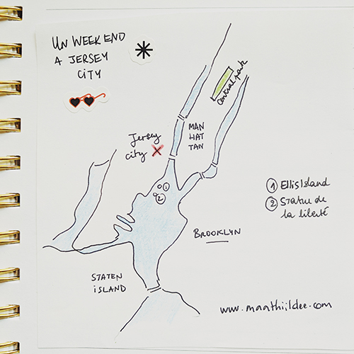 Jersey city carte