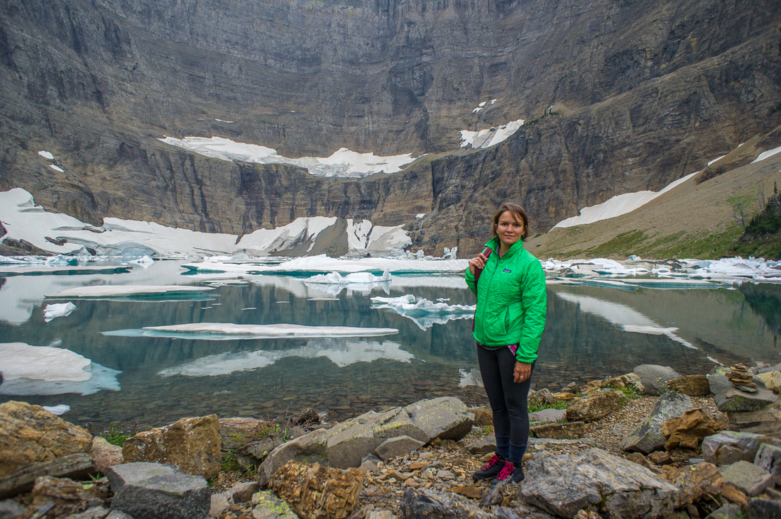 Mathilde iceberg lake 1