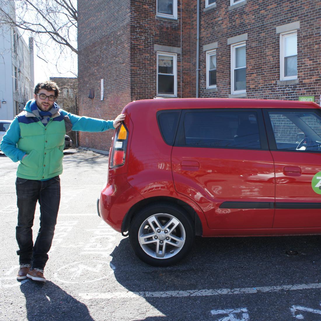 Premier road trip en zipcar 1