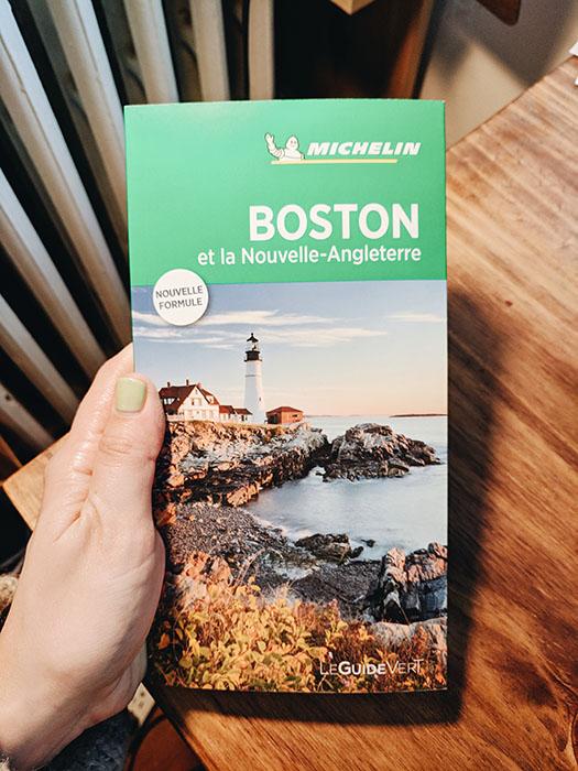 Guide vert boston et nouvelle angleterre