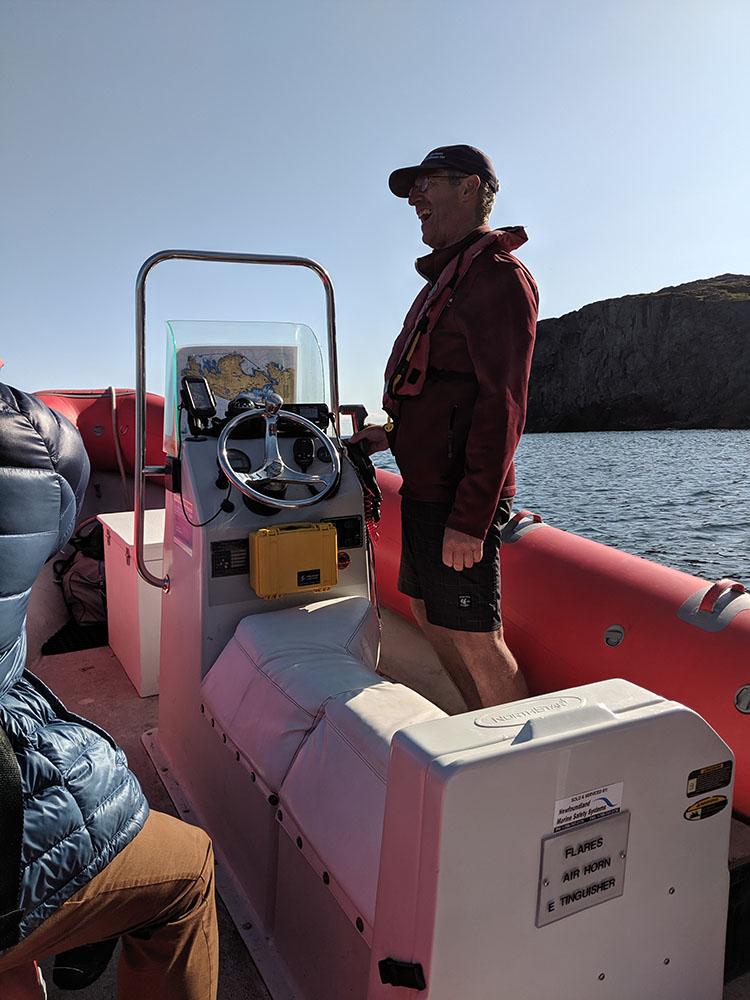 Depart en bateau de quirpon island 1