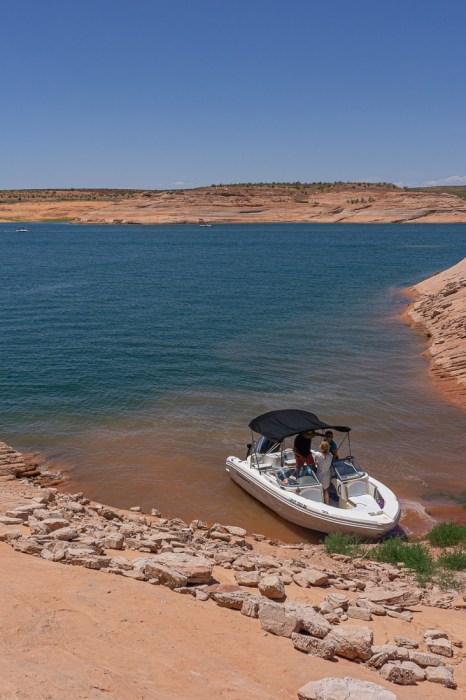 Lake powell en bateau 6
