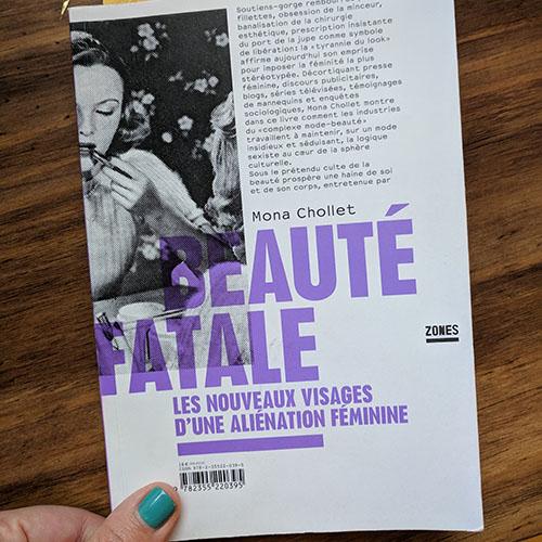 Beauté fatale book 2019