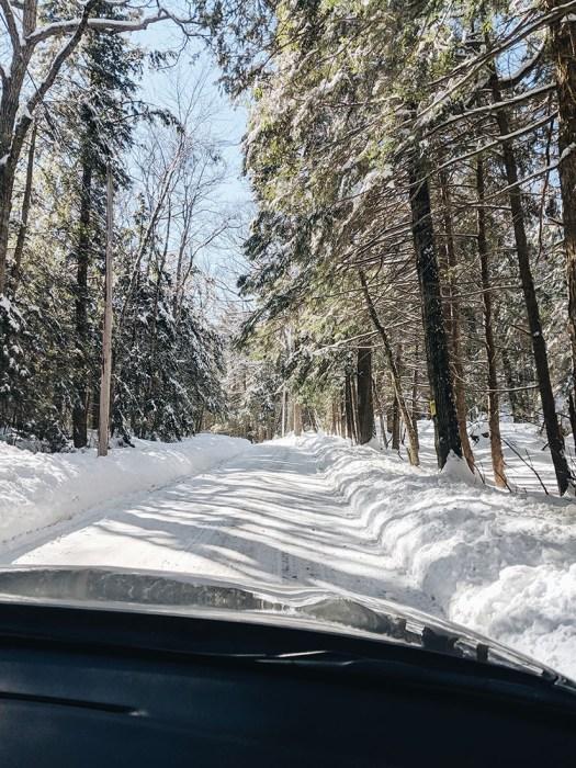 Sur les routes enneigees vermont le blog de mathilde