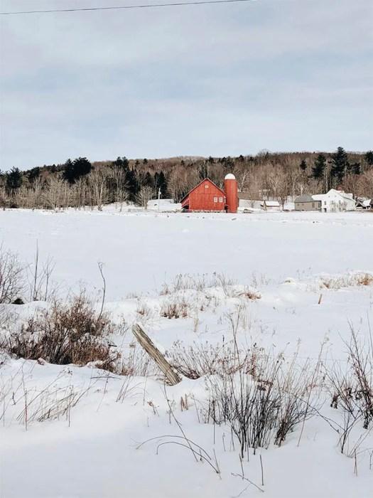 Vermont la ferme rouge le blog de mathilde
