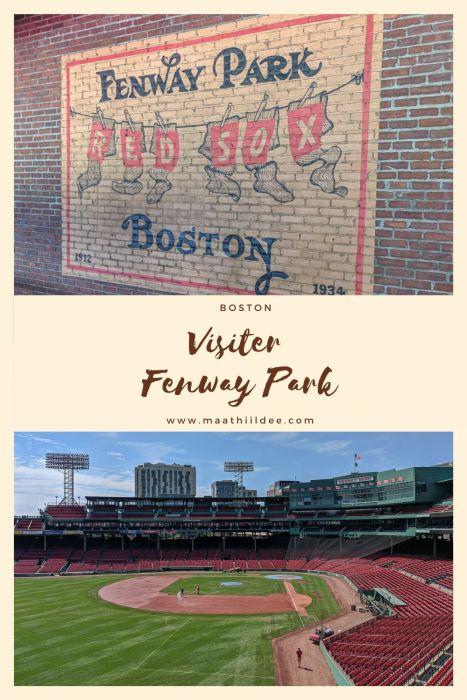 Vistier fenway park boston le blog de mathilde