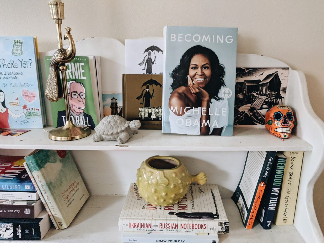 Michelle obama Becoming Memoires