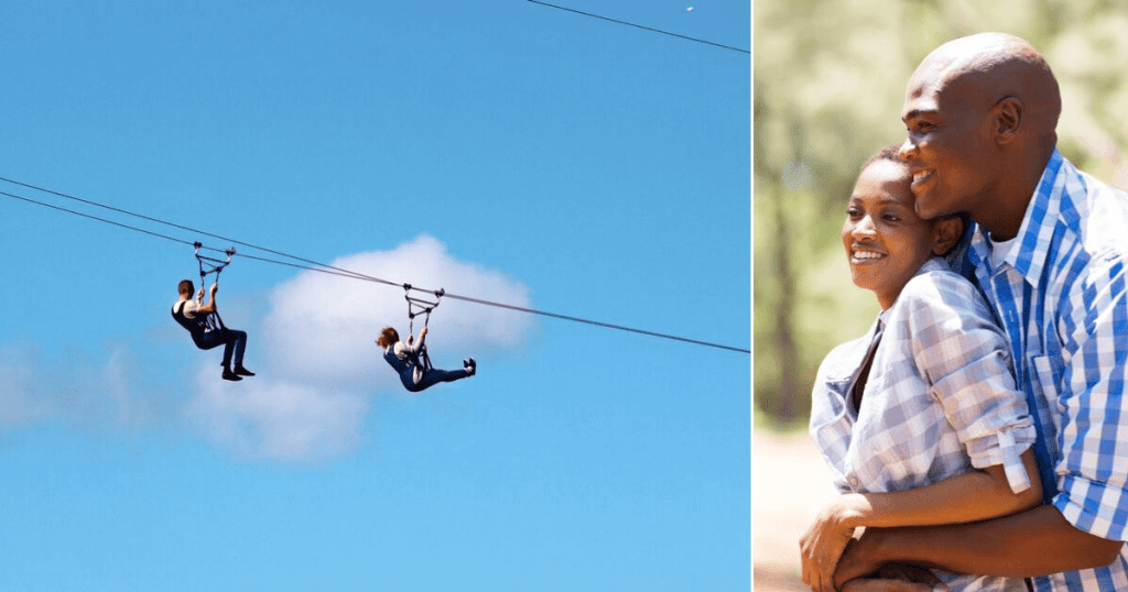 Zipline experience for two!