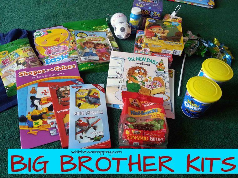 Big Brother Kit | Mabey She Made It #nestingtonewborns #siblings