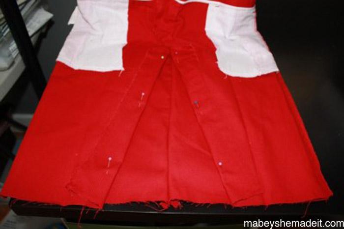 Panelist Skirt: a Pants to Skirt Tutorial | Mabey She Made It #refashion #skirt #pencilskirt