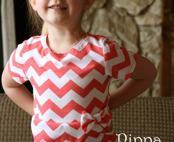 Pippa Peplum Review | Mabey She Made It #sewingforkids #peplum