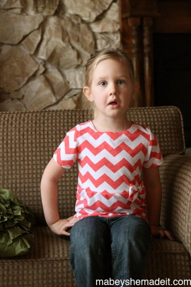 Pippa Peplum Review | Mabey She Made It #sewingforkids #peplum