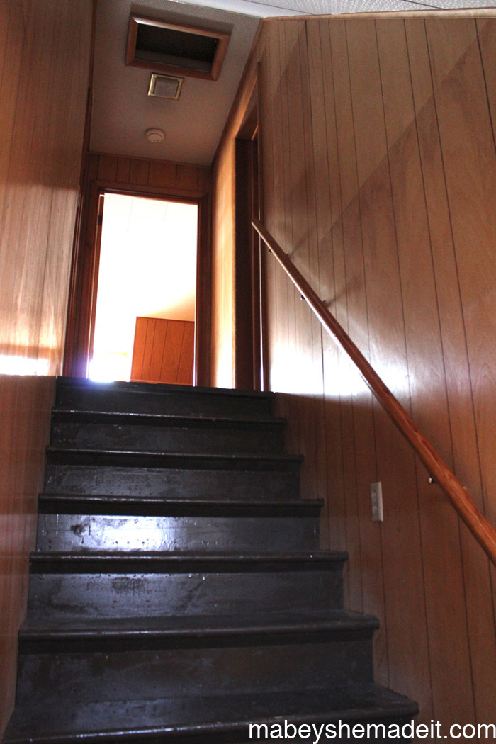 Mabey Manor Stairs | Mabey She Made It