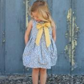 Kid's Clothes Week Begins (Tuileries Dress)